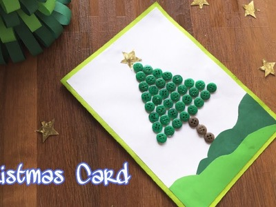 Happy Christmas Card Making for kids | Handmade Christmas Cards