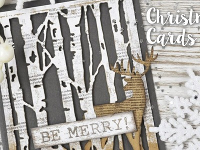 Last minute Christmas Card tutorials with Pete Hughes Sizzix Lifestyle