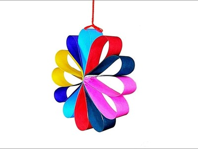 NEW YEAR DECORATION || PAPER DECORATION || PAPER CRAFT