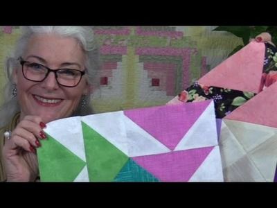 Rainbow Sorbet Block of the Month for Dec #12