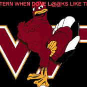 Virginia Tech # 1 Cross Stitch Pattern***LOOK***