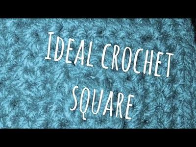 #364 - Ideal Crochet Square - 2018 Granny Square CAL