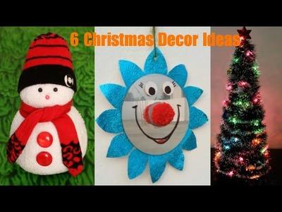 6 Easy Christmas & Festival Home Decoration ideas | Simple & Easy ideas