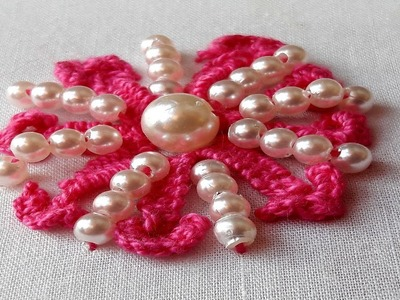 Hand Embroidery for Beginners by sewing thread.