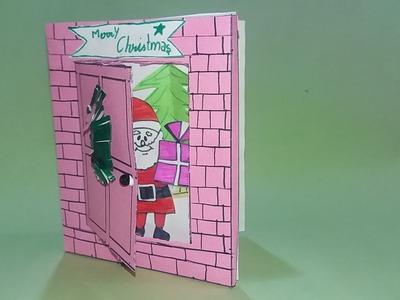 Handmade Christmas Card || Unique Christmas cards || How to make Christmas Cards