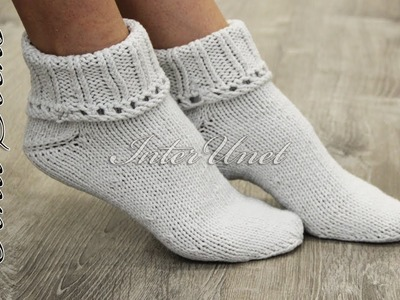 Knitting for beginners – learn how to knit socks