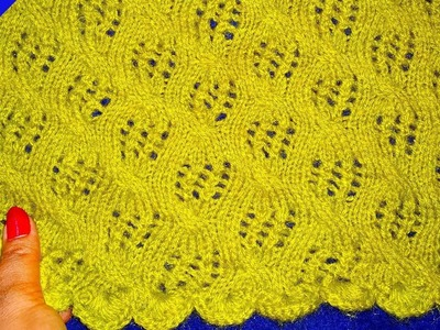 Net knitting or cardigan Design for Ladies or Girls Sweater - Nisixom
