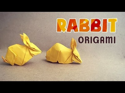 ORIGAMI TUTORIAL - How to make an Origami Rabbit