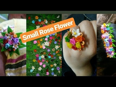 Small Rose Flower || Italian Dough || Fk Arts & Craft