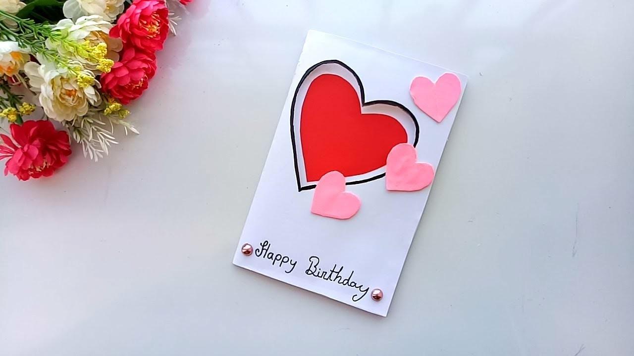 Beautiful Handmade Birthday card.Birthday card idea.