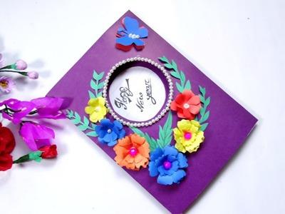 Beautiful Handmade Happy New Year 2019 Gift Card.Birthday Gift Card Idea