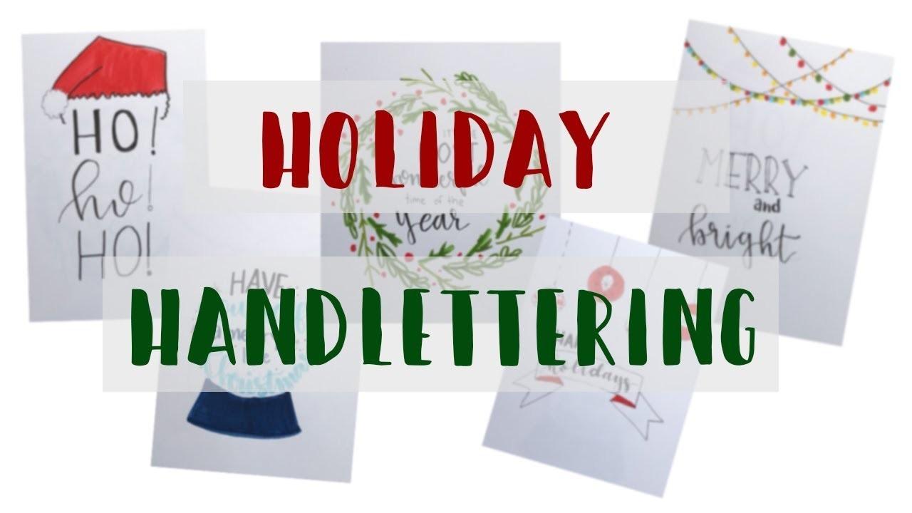 Christmas Card Letter Ideas.Holiday Letter With Me Handmade Christmas Card Ideas