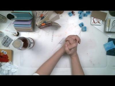 Making Handmade Books  12-09  (recorded Live Stream)