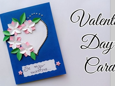 Valentine Day Card.Handmade Valentine day Card Idea.Simple and Easy Valentine Day Card.Love Card