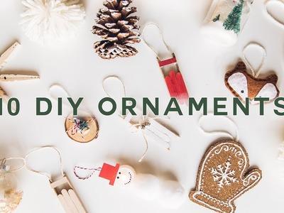 10 DIY CHRISTMAS ORNAMENTS - Cheap + Aesthetic (2019). Lone Fox