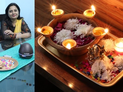 (हिंदी) 5 Diwali Decoration DIY - Very Easy home decoration ideas