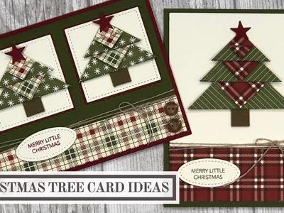 Christmas Tree Card Ideas (Simple Paper Folding)