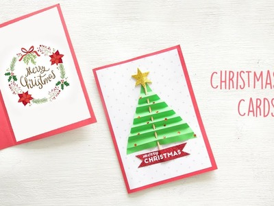 DIY Christmas Card | DIY Holiday Card Ideas | Christmas Craft