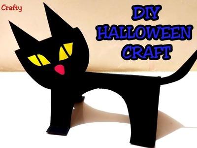 DIY HALLOWEEN CRAFT IDEA. EASY HALLOWEEN CRAFT.HALLOWEEN DECOR.5 Minutes Craft