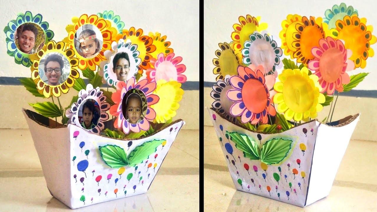 Diy Paper Craft Ideas Paper Flower Photo Garden
