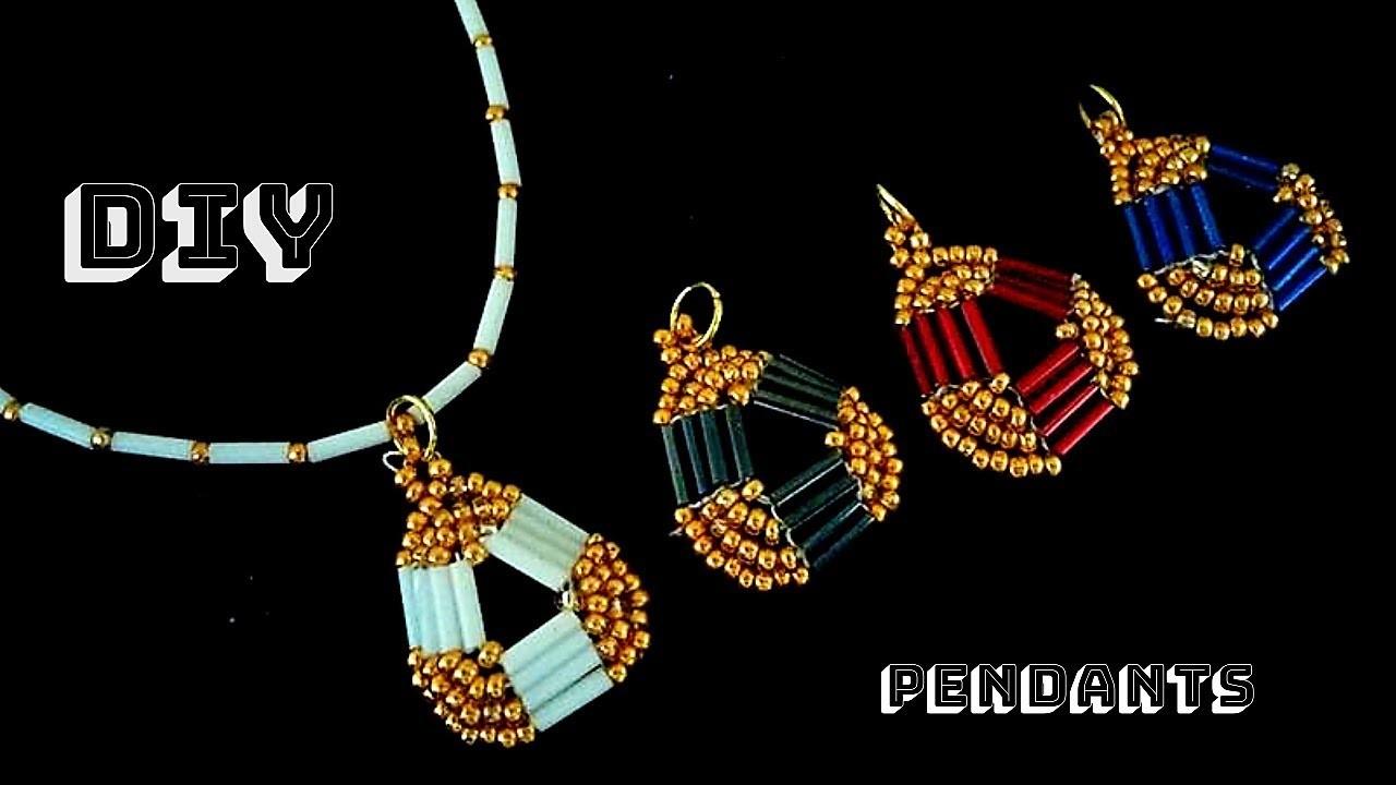 Diy pendants. diy gift. Jewelry making tutorial