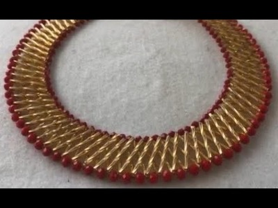 DIY tutorial on how to make this beaded straw bead
