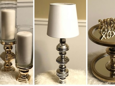 Dollar Tree DIY || ???? Beautiful Metallic Gold.Silver Home Decor ????