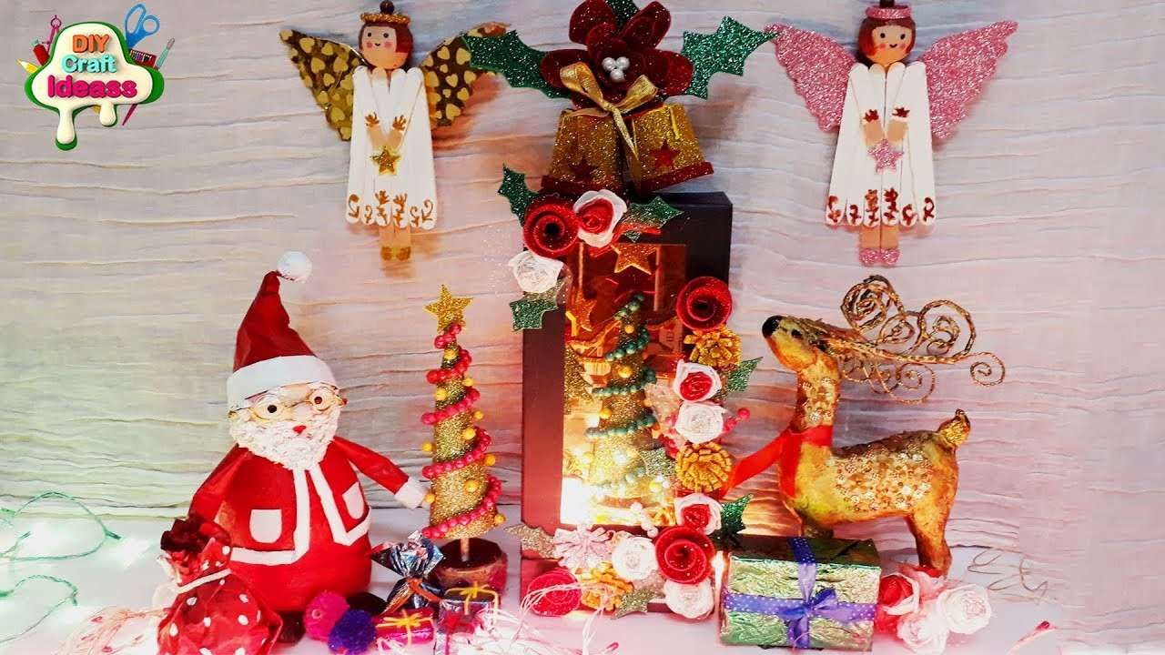 Easy Christmas decorations idea | DIY Christmas Decor and Life Hacks | Best out of waste Craft ideas