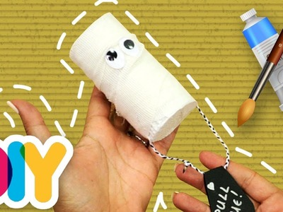 Fast-n-Easy | Mummy Piñata ???? HALLOWEEN Paper Roll CRAFT | DIY Arts & Crafts for Kids