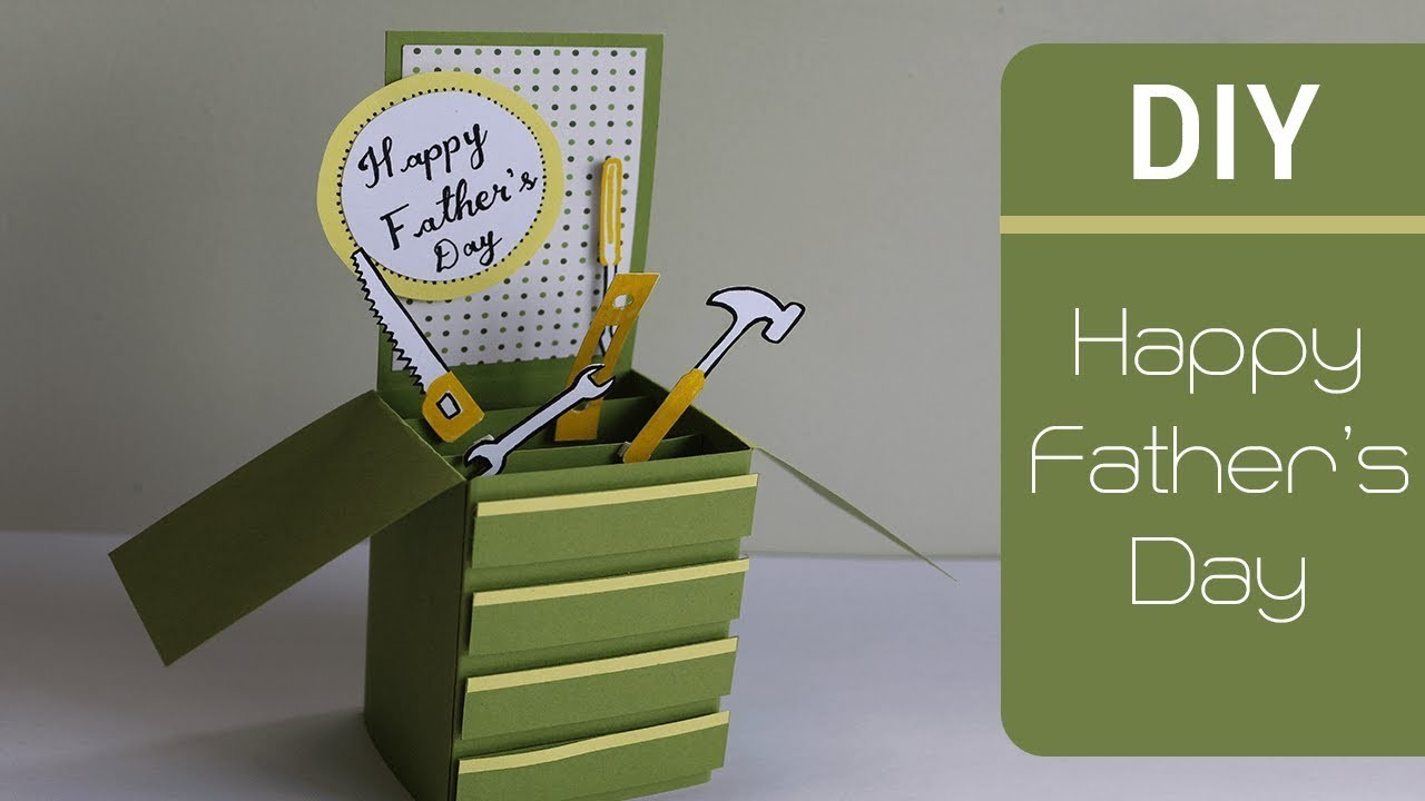 Father's Day Cards   Card In A Box   Cute and Easy Greeting Cards