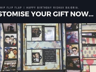 Flip Flap Album (BFF) | Card Idea For Best Friend | Best Scrapbook Ever | DIY Gift Idea | Blackbands