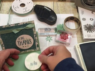 Friday Quickies: 4 Different Cards with one set of supplies!