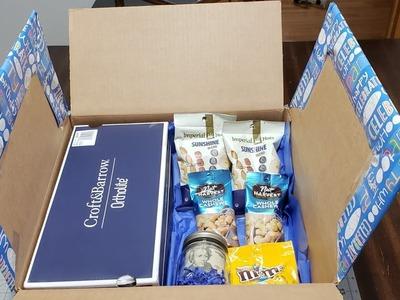 #giftforhim #giftinabox Diy Gift In A Box For Him. Birthday box gift????