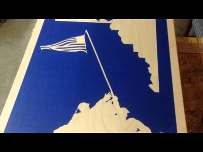How to Cornhole Board Staining Tutorial