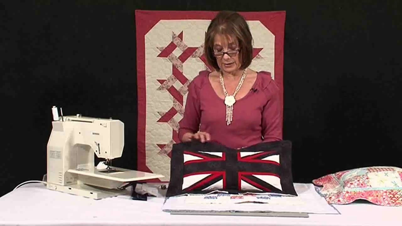 How to create an Oxford Flap on a cushion with Valerie Nesbitt (Taster Video)