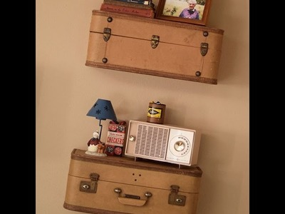 How to Easily Build Suitcase Shelves, Step by Step