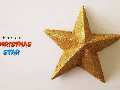 How To Make A Christmas Star - Paper Crafts || Paper Girl