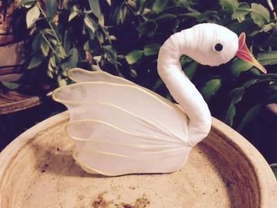 How to make a nylon stocking - Swan