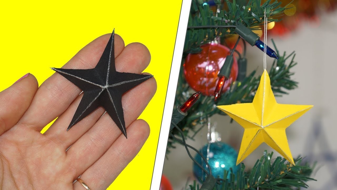 How to make a paper star | DIY paper star