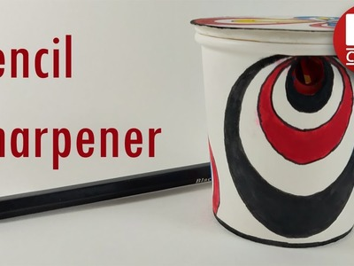 How to make a pencil sharpener from disposable cup.