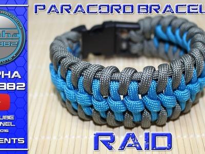 How To Make Paracord Bracelet RAID