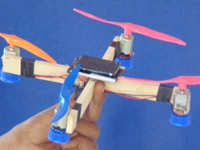 How to Make Smple Drone with Your hands in Home  -crazy creation