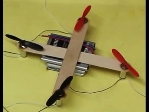 How to make very easy drone    Easy Drone making    Making a drone in just 30 minute