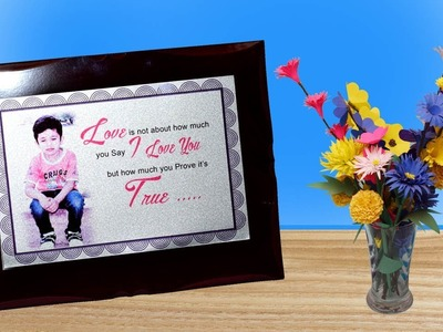 How to Print Your photo & Quotes on metal Sheet at Home - using Electric Iron