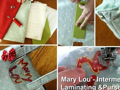 How to sew a tote bag - Step by step Tutorial (Mary Lou Pattern)