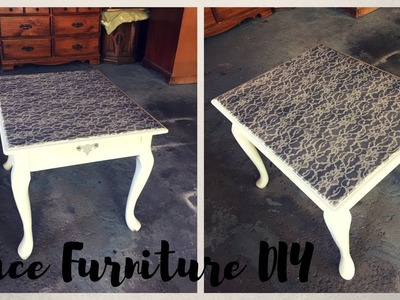 How to: Transform Furniture w. Lace