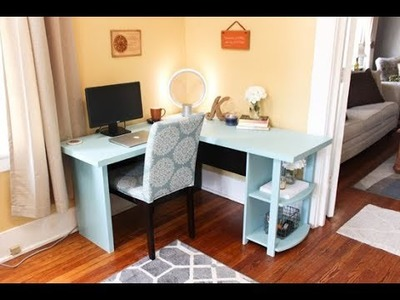 How To Update IKEA Desk With A Bigger Top