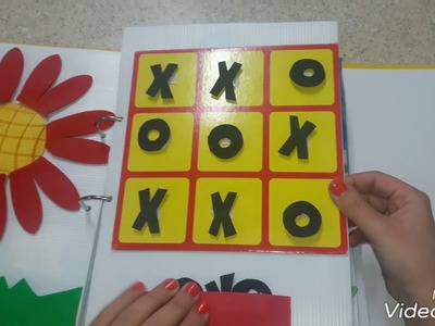 Jumana's handmade Quiet Book for kids