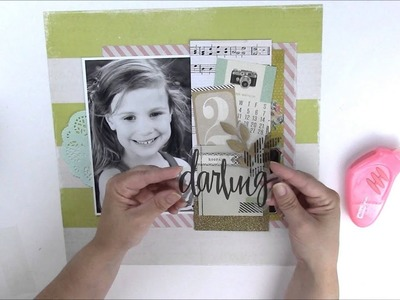 Just Ask Jen Adding a Pocket to a Scrapbooking Layout