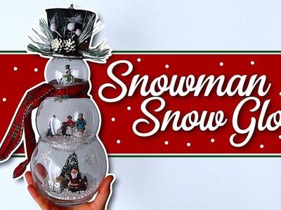 Make a Snowman Snowglobe!